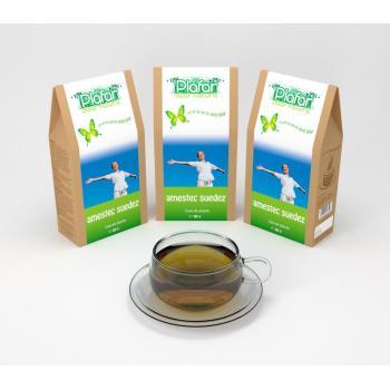 Ceai amestec de plante suedez 80 gr PLAFAR