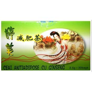 Ceai antiadipos cu ginseng 30 pl L&L PLANT