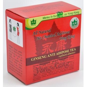 Ceai antiadipos cu ginseng 30 pl YONG KANG
