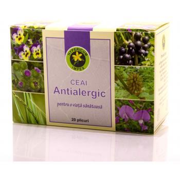 Ceai antialergic 20 pl HYPERICUM