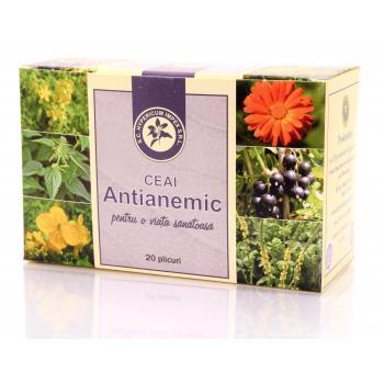 Ceai antianemic 20 pl HYPERICUM