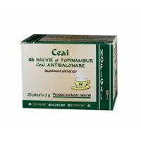 Ceai antibalonare (salvie si topinambur)