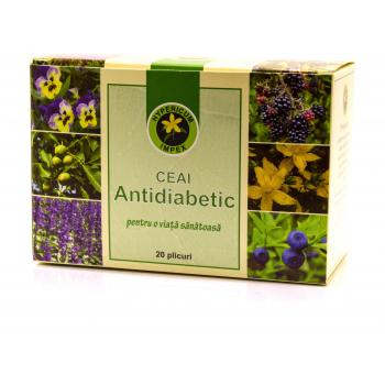 Ceai antidiabetic 20 pl HYPERICUM