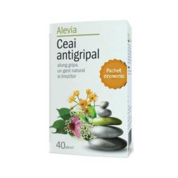 Ceai antigripal pachet economic 40 pl ALEVIA