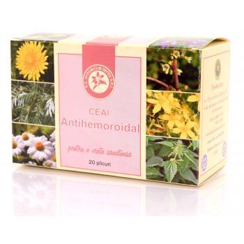 Ceai antihemoroidal 20 pl HYPERICUM