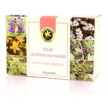 Ceai antihemoroidal 30 gr HYPERICUM