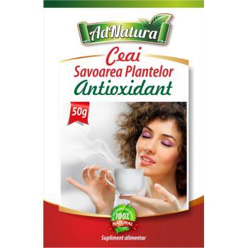 Ceai antioxidant savoarea plantelor 50 gr ADNATURA
