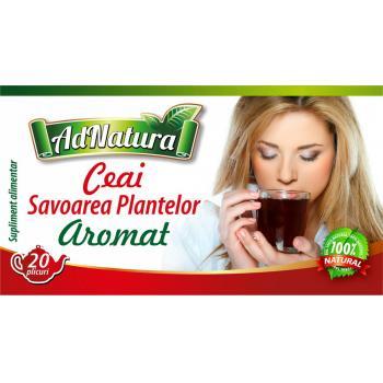 Ceai aromat savoarea plantelor 20 pl ADNATURA