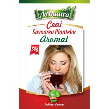 Ceai aromat savoarea plantelor 50 gr ADNATURA