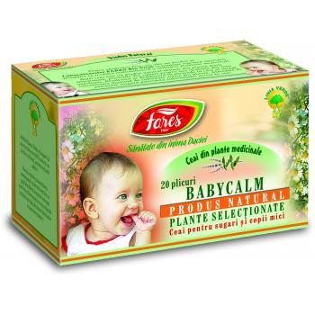 Ceai babycalm 20 pl FARES