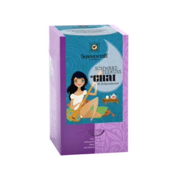 Ceai chai sarut de ceai negru eco  20 pl SONNENTOR
