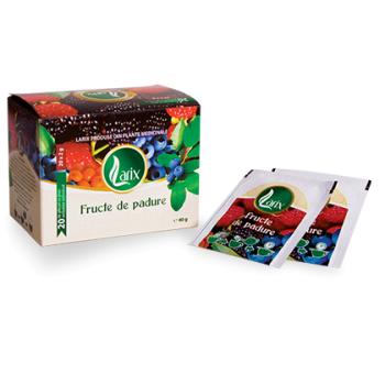 Ceai cu fructe de padure 20 pl LARIX