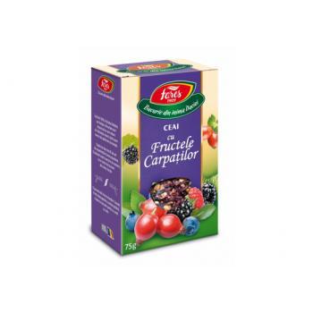 Ceai cu fructele carpatilor 75 gr FARES
