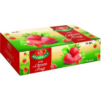 Ceai de capsuni si fragi 100 pl FARES