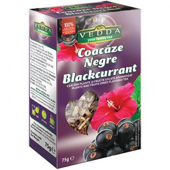 Ceai de coacaze negre 75 gr RU BIO