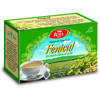 Ceai de fenicul 20 pl FARES
