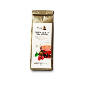 Ceai de fructe cu visine salbatice 50 gr ALEVIA