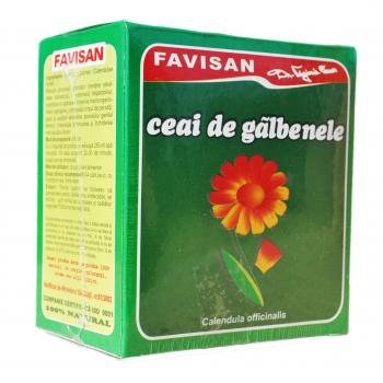 Ceai de galbenele d014 50 gr FAVISAN