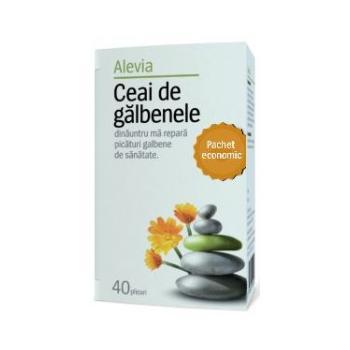 Ceai de galbenele pachet economic 40 pl ALEVIA