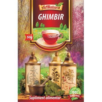 Ceai de ghimbir 50 gr ADNATURA