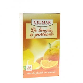 Ceai de lamaie si portocale 20 pl CELMAR