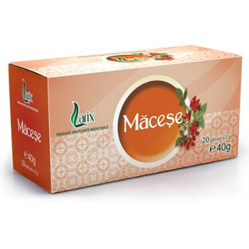Ceai de macese 20 pl LARIX