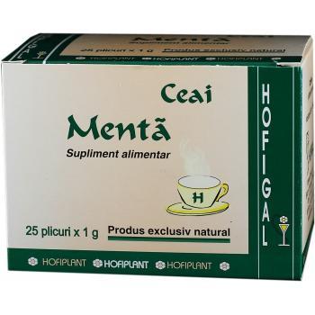 Ceai de menta 25 pl HOFIGAL