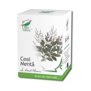 Ceai de menta 20 pl PRO NATURA