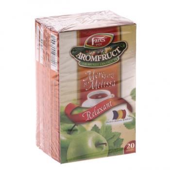Ceai de mere verzi si melissa 20 pl AROMFRUCT