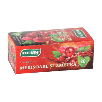 Ceai de merisoare si zmeura 20 pl BELIN
