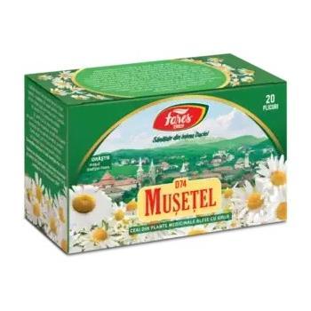 Ceai de musetel 20 pl FARES