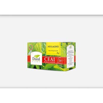 Ceai de patlagina 20 pl DOREL PLANT