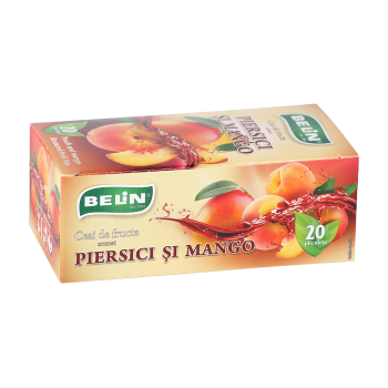 Ceai de piersici si mango 20 pl BELIN