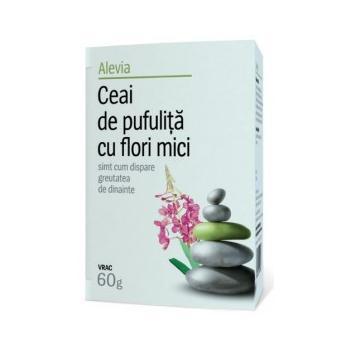 Ceai de pufulita cu flori mici 60 gr ALEVIA