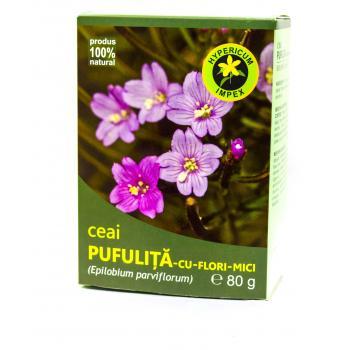 Ceai de pufulita cu flori mici 80 gr HYPERICUM
