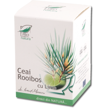 Ceai de rooibos & lime 20 pl PRO NATURA