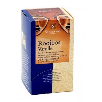 Ceai de rooibos vanilie 20 pl SONNENTOR