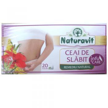 Ceai de slabit (remediu natural) 20 pl NATURAVIT