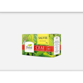 Ceai de salvie 20 pl DOREL PLANT