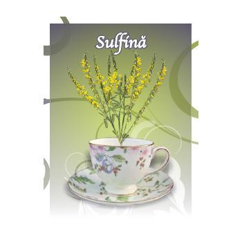 Ceai de sulfina 50 gr CYANI