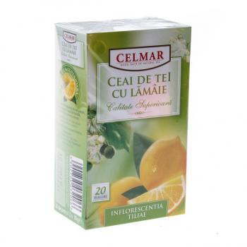 Ceai de tei cu lamaie 20 pl CELMAR