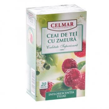 Ceai de tei cu zmeura 20 pl CELMAR
