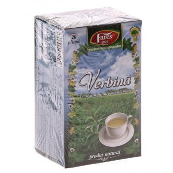 Ceai de verbina 20 pl FARES