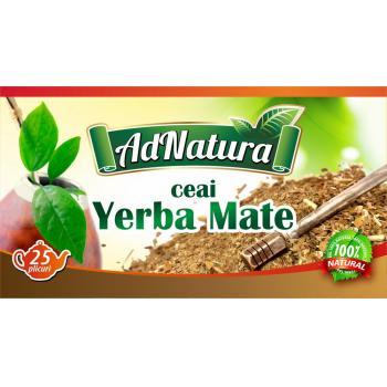 Ceai de yerba mate 20 pl ADNATURA