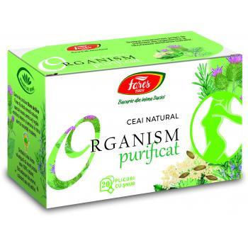 Ceai organism purificat 20 pl FARES
