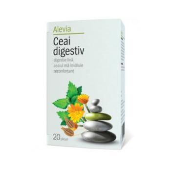 Ceai digestiv 20 pl ALEVIA