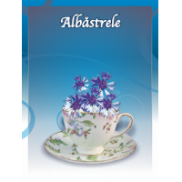 Ceai din flori de albastrele