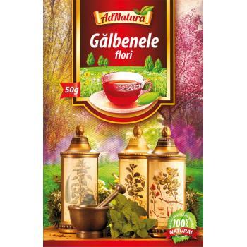 Ceai din flori de galbenele 50 gr ADNATURA