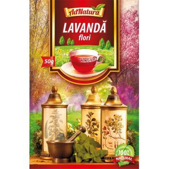 Ceai din flori de lavanda 50 gr ADNATURA