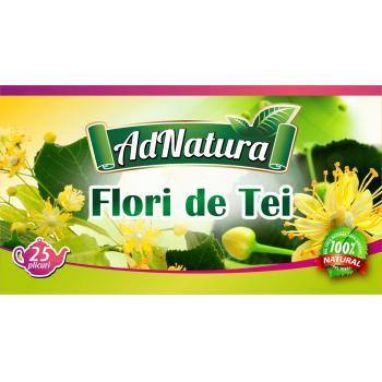 Ceai din flori de tei 20 pl ADNATURA